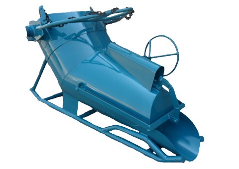 500L Banana Bucket, Conveyor Systems, Mining Equipment, Safety Cages