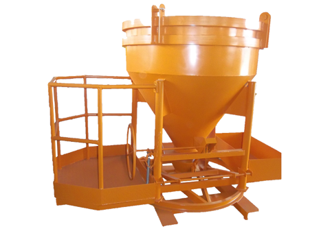 Cement Bucket Orange