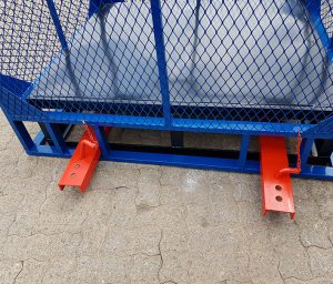 BRICK Cage Set (Blue), Brick Lifting Cages, Brick Lifting Cages
