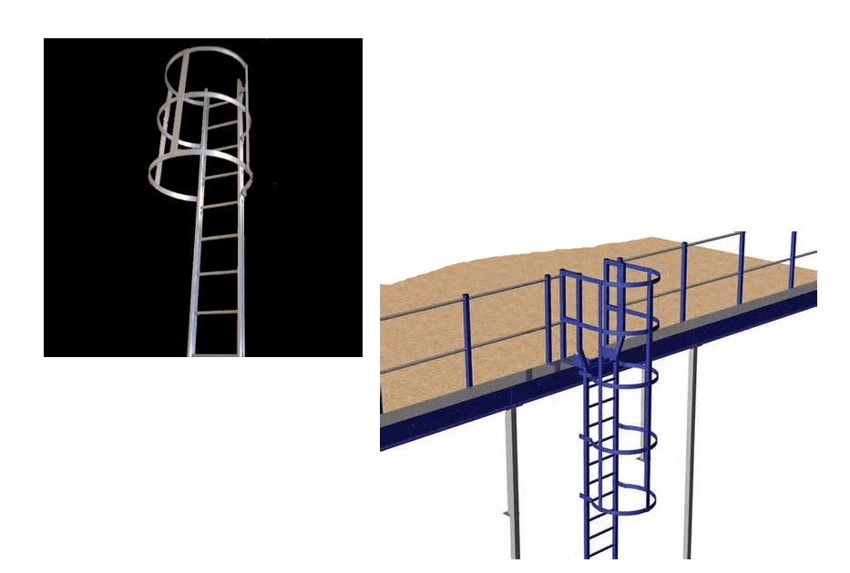CAT LADDERS, Construction Equipment, Construction Material