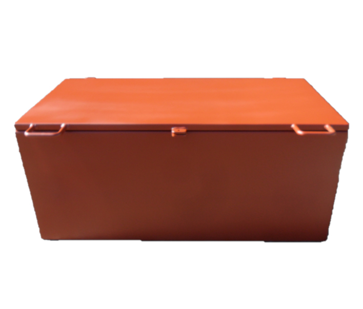 Closed Orange Toolbox