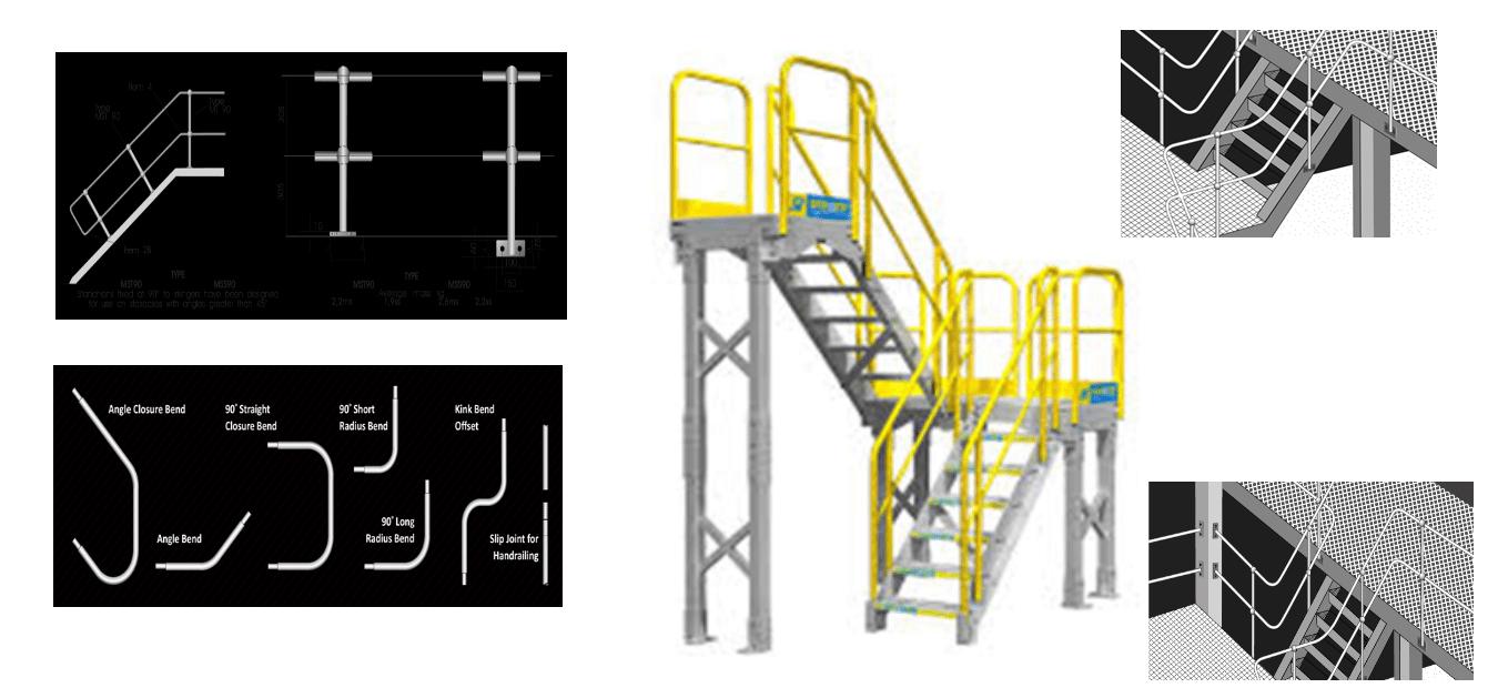HANDRAILING, Construction Equipment, Construction Material