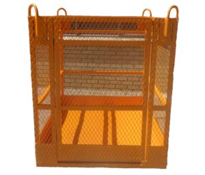 MAN CAGE WITH NO ROOF, Brick Lifting Cages, Brick Lifting Cages