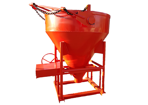 ROUND BOTTOM DISCHARGE BUCKET