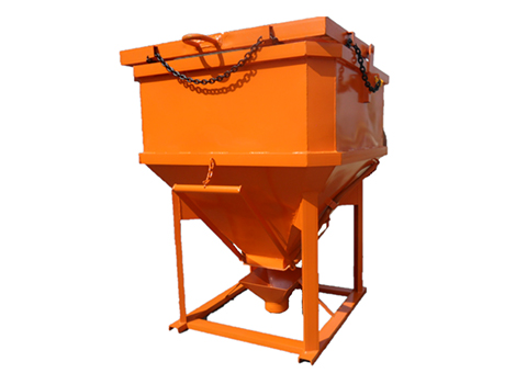 SQUARE SHAPED SIDE DISCHARGE BUCKET