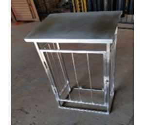 STAINLESS STEEL GAS CAGES