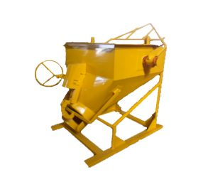 SIDE DISCHARGE BUCKET 500L